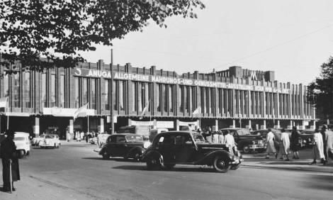 Imagen de archivo de la celebración de la feria ANUGA en 1951. ©Koelnmesse GmbH.